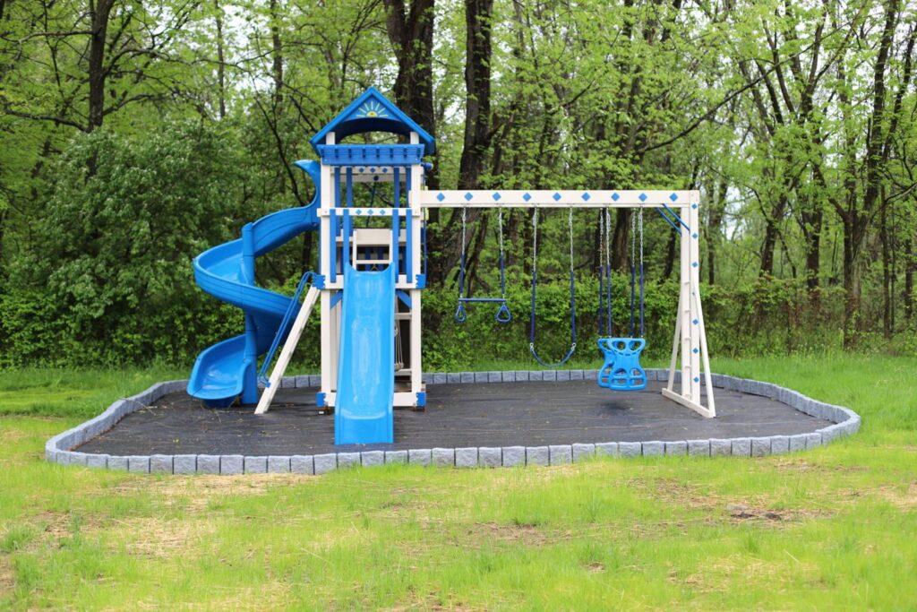 playground outside of Ashley House