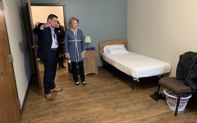Sen. Capito tours an Eastern Panhandle recovery center